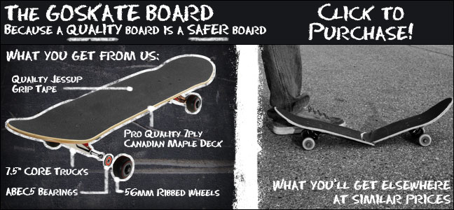 Featured GoSkate Board