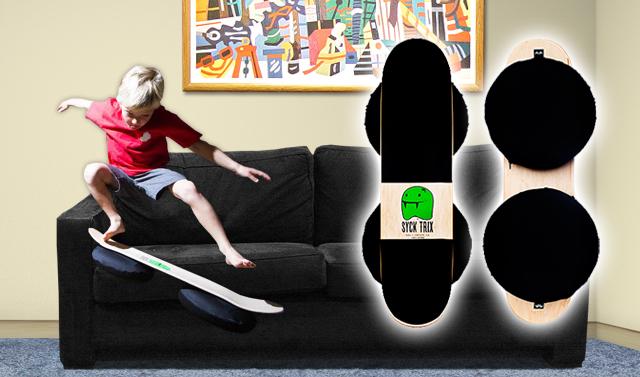 kids skateboard practice board